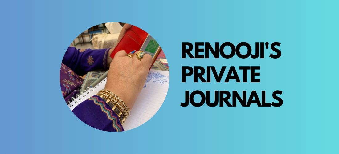 renooji's private journals